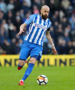 Brighton skipper Bruno admits he is facing his toughest challenge at the club as he tries to win his place back in the side.