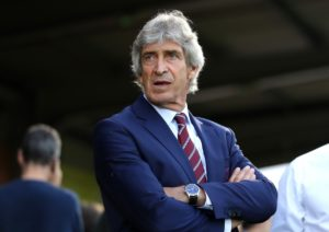 West Ham manager Manuel Pellegrini said he did not feel under any undue pressure by their four-match losing start to the season.