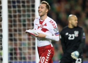 Christian Eriksen is determined to transfer his incredible Denmark scoring form into goals at Tottenham.