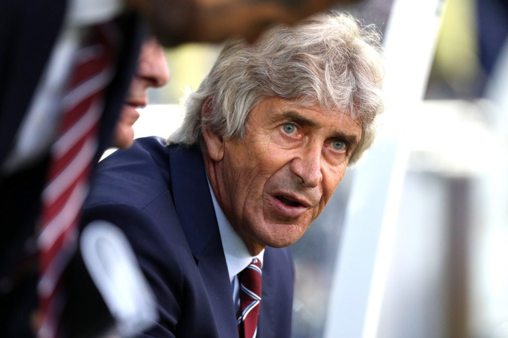 West Ham boss Manuel Pellegrini and stand-in striker Michail Antonio were split on their assessment of the goalless draw with Chelsea on Sunday.