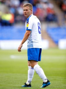 Tranmere will have midfielder Jay Harris available again following a three-game suspension for the Sky Bet League Two match against Colchester.