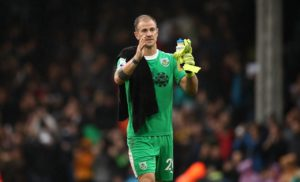 Burnley boss Sean Dyche says former England keeper Joe Hart has nothing to prove to him after a great start to the season.