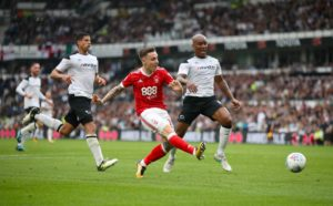 Swansea winger Barrie McKay has shaken off a bug to feature against his old club Nottingham Forest.