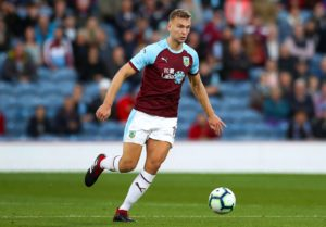 Burnley will be without defender Ben Gibson for the Premier League visit of Bournemouth after he underwent a hernia operation.