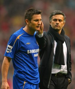 Frank Lampard is looking forward to pitting his wits against former mentor Jose Mourinho when their clubs meet in the Carabao Cup at Old Trafford on Tuesday.