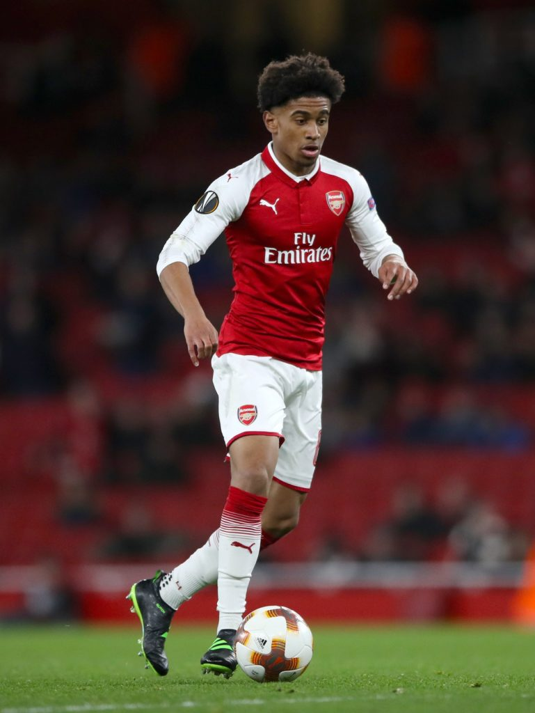 Reiss Nelson has revealed his excitement at making his Bundesliga debut after joining Hoffenheim on loan.