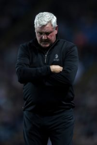 Steve Bruce came under increasing pressure after Aston Villa slumped to a shock 2-1 Championship home defeat to Sheffield Wednesday.