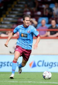 Scunthorpe winger Josh Morris scored a brace to guide his side to a 3-2 win against AFC Wimbledon.