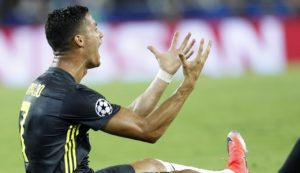 Juventus boss Massimiliano Allegri insists Cristiano Ronaldo has nothing to prove despite his sending off in the Champions League.