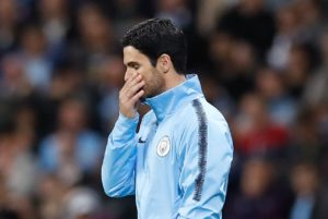 Mikel Arteta refused to use the absence of Pep Guardiola as an excuse after Manchester City suffered a shock loss to Lyon in their Champions League opener.
