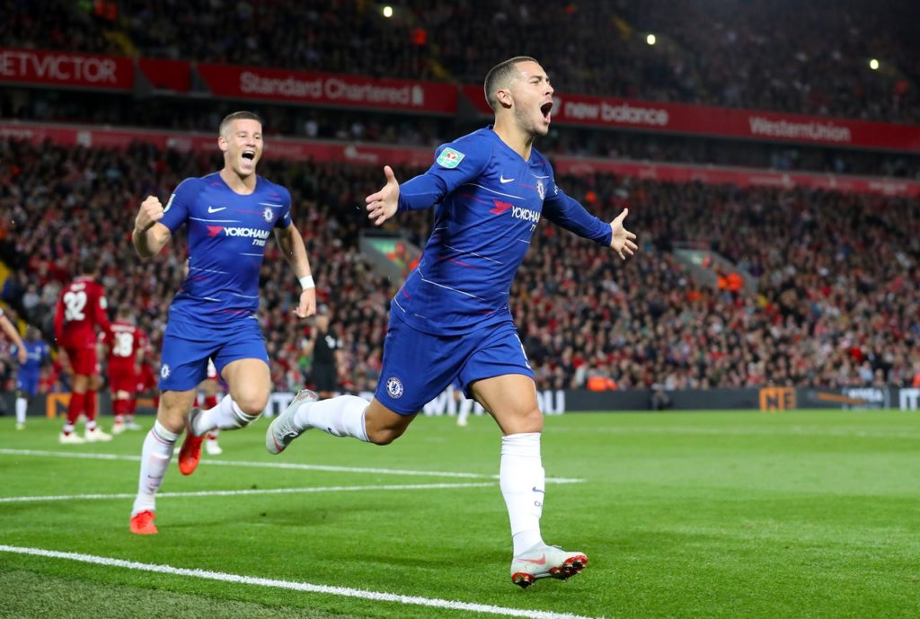 Chelsea assistant boss Gianfranco Zola believes forward Eden Hazard is yet to reach the peak of his powers.