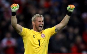 Leicester's Kasper Schmeichel says he is honoured to have been named in the running for the Best FIFA Goalkeeper award.