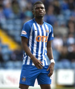 Aaron Tshibola insists peace has broken out with former Kilmarnock team-mate Youssouf Mulumbu despite his side winning last week's clash against Celtic.