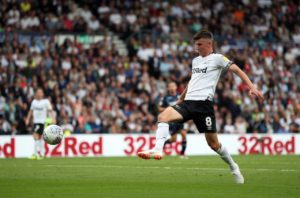 Derby boss Frank Lampard believes Mason Mount can earn full international recognition with England if he can maintain his recent form.