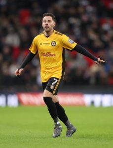 Newport will be without the suspended Robbie Willmott for their Rodney Parade appointment with Cambridge in League Two.