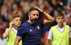 Aberdeen manager Derek McInnes has accused Neil Doncaster of lacking ambition following his dismissal of calls for video technology.