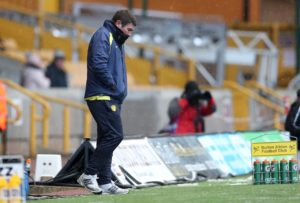 Burton manager Nigel Clough admitted his side missed a chance to pick up three points after being held to a 0-0 draw by Scunthorpe in League One.