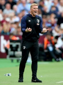 Bournemouth boss Eddie Howe has urged his team to keep their feet on the ground despite their flying start to the campaign.