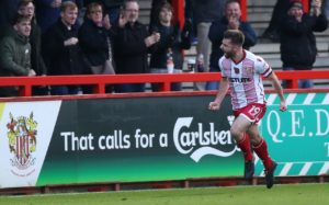 Danny Newton scored his first goal of the season as Stevenage ended a run of back-to-back League Two defeats with a 1-0 win over Macclesfield at Broadhall Way.