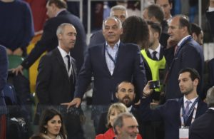 Roma president James Pallotta has seen his Champions League ban reduced from three months to one following an appeal.