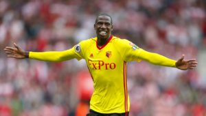 Midfielder Abdoulaye Doucoure knows subduing 'show off' Paul Pogba is key to Watford claiming a fifth win of the season.