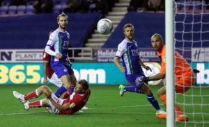 Nick Powell scored a second-half winner as Wigan defeated Bristol City 1-0 to climb up to third in the Sky Bet Championship.