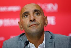 Barcelona are reportedly keen on bringing in Roma sporting director Monchi but could face competition from Manchester United.