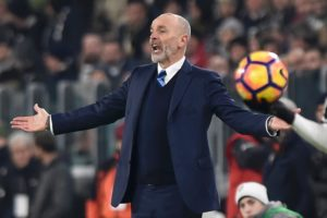 Stefano Pioli is happy with Milan's progress.