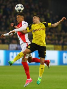 Borussia Dortmund have confirmed that full-back Raphael Guerreiro has pulled out of the Portugal squad because of a muscle injury.