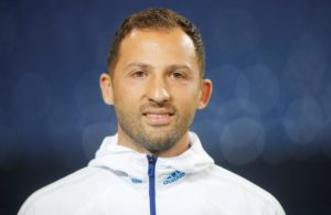 Manager Domenico Tedesco says Schalke's 1-1 Champions League draw with Porto was a 'step in the right direction' for his side.