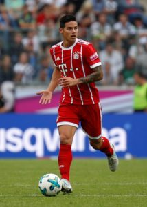 Bayern Munich are hoping to wrap up a permanent deal for on-loan playmaker James Rodriguez before the end of the year.