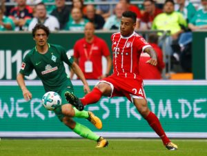Bayern Munich midfielder Corentin Tolisso will be out of action for the foreseeable future after suffering a knee injury.