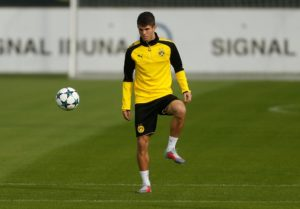 Lucien Favre doesn't think Christian Pulisic will be able to line up for Borussia Dortmund when Frankfurt visit on Friday.