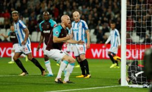 Former West Ham central defender James Collins is continuing to train with Ipswich Town as he searches for a new club.