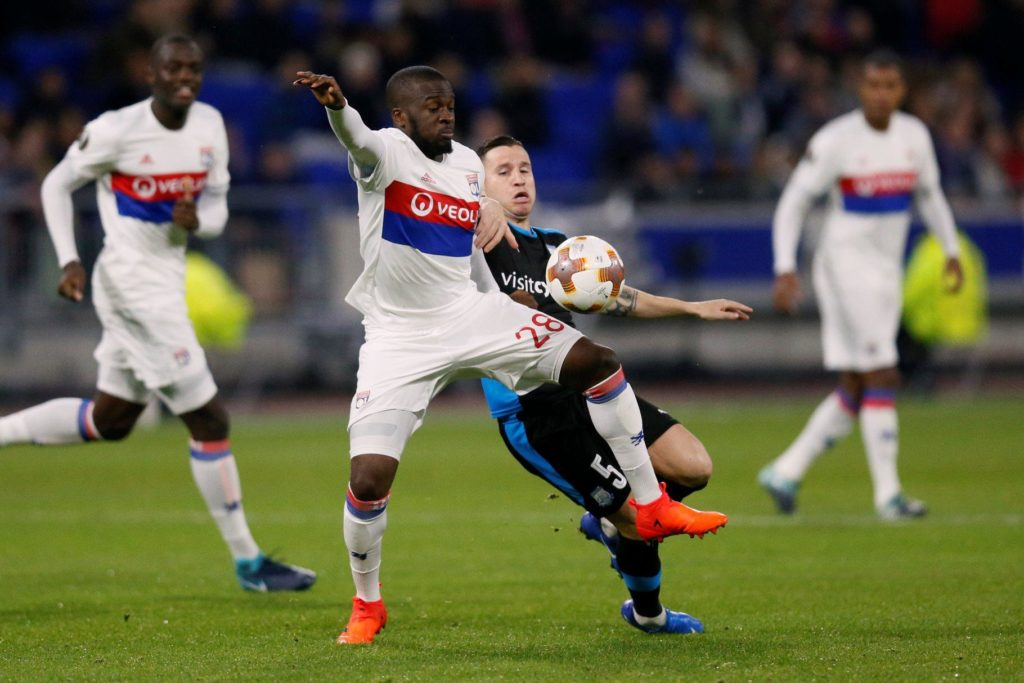 Midfielder Tanguy Ndombele says he had no intention of leaving Lyon this summer despite interest from Tottenham.