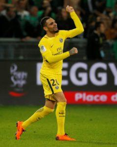 Paris Saint-Germain's Layvin Kurzawa is set for a January exit.