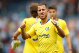 Chelsea playmaker Eden Hazard could score 40 goals a season if he was at a couple of the Blues' rivals, according to Stuart Pearce.