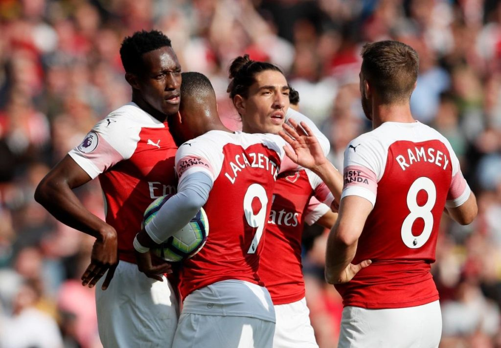 Arsenal boss Unai Emery remains coy over the futures of Danny Welbeck and Aaron Ramsey, who are both out of contract this summer.