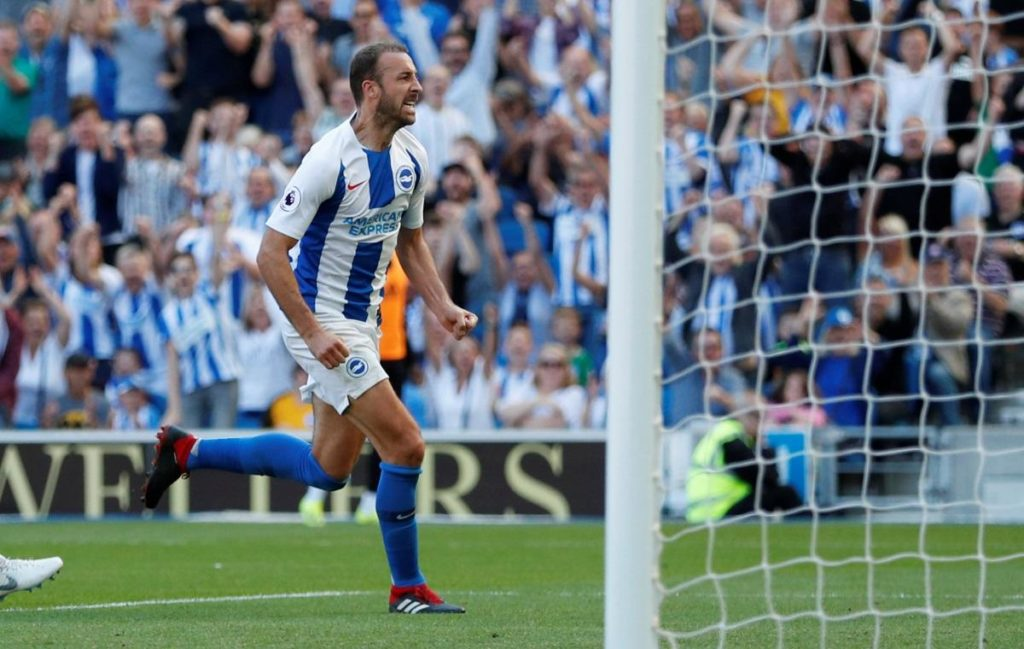 Southampton have been warned by Mark Hughes to keep a close eye on wily veteran Glenn Murray when they face Brighton on Monday.