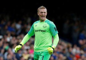 Former Everton goalkeeper Nigel Martyn has praised the 'confidence' of current number one Jordan Pickford.