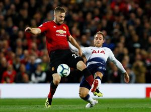 Jose Mourinho says he doesn't know if Luke Shaw will be available for Manchester United's trip to Watford on Saturday.