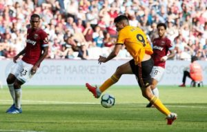 Wolves boss Nuno Espirito Santo could be without striker Raul Jimenez for the meeting with Burnley in the Premier League on Sunday.