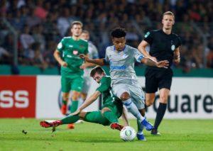 Schalke face an anxious wait on the fitness of midfielder Weston McKennie after he sustained a knee injury on international duty.