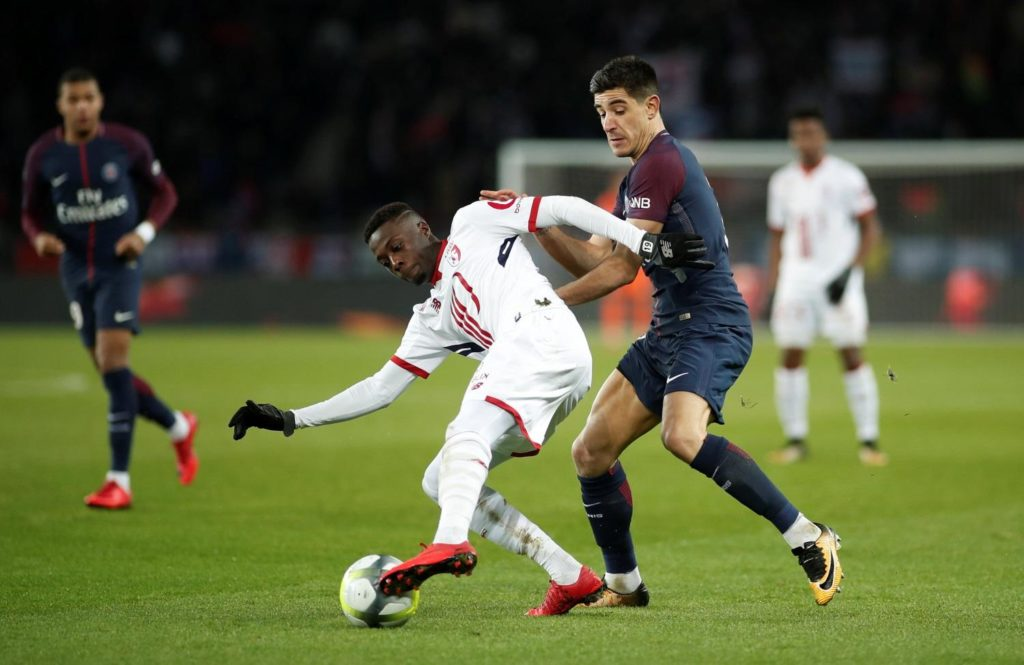 Lille president Gerard Lopez has announced Barcelona are pondering a move for forward Nicolas Pepe.