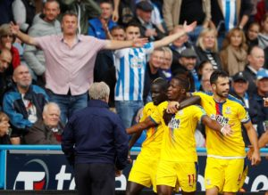 Wilfried Zaha's superb first-half goal proved to be enough for Crystal Palace to clinch a 1-0 victory at Huddersfield Town.