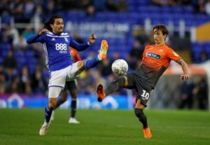 Swansea City boss Graham Potter has confirmed Bersant Celina and Jay Fulton will miss their trip to Stoke City on Tuesday.