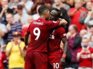 Liverpool forward Sadio Mane has revealed how he helped persuade Roberto Firmino to play against Paris Saint-Germain on Tuesday.