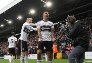 Aleksandar Mitrovic scored his fifth Premier League goal of the season as Fulham hit back to draw 1-1 with Watford at Craven Cottage.
