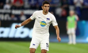 Hertha Berlin loanee Marko Grujic has sustained ankle ligament damage and could be set for an extended spell on the sidelines.