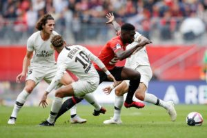 Rennes face a fight to keep hold of winger Ismaila Sarr with both Arsenal and Inter Milan believed to be vying for his signature.